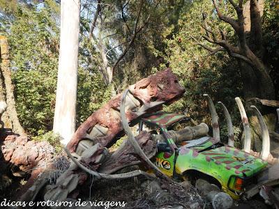 Jurassic Park no Universal Studio