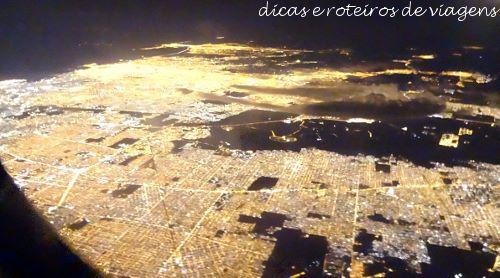Decolando de Buenos Aires às 22h