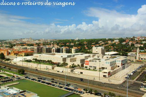 Centro Cultural de Belém visto do Padrão dos Descobrimentos