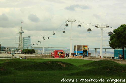 Telecabine Lisboa - Parque das Nações