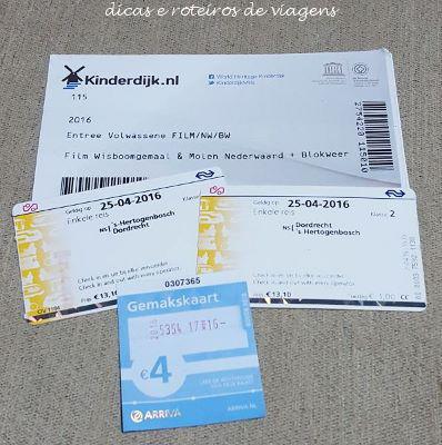 tickets-kinderdijk