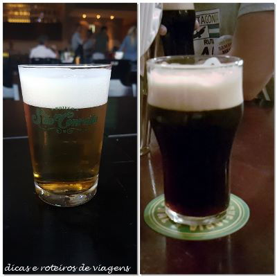Chopes do Boteco São Conrado e Cervejaria Nacional