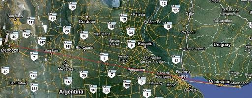Roteiro Argentina - Uruguai no Verão