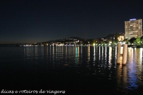 Lago Léman em Montreux