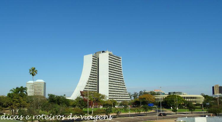 Domingo de Sol em Porto Alegre