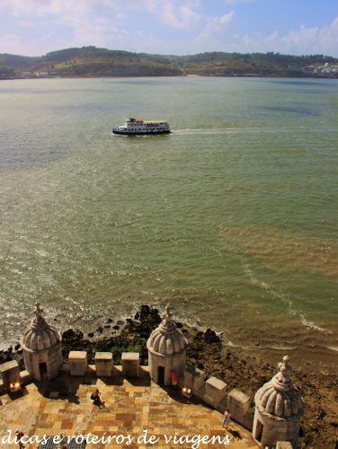 Tejo visto da Torre de Belém