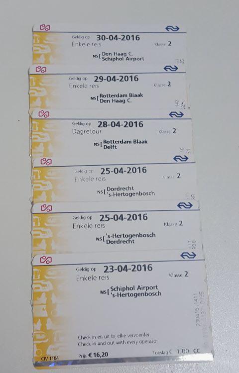 Tickets Holanda