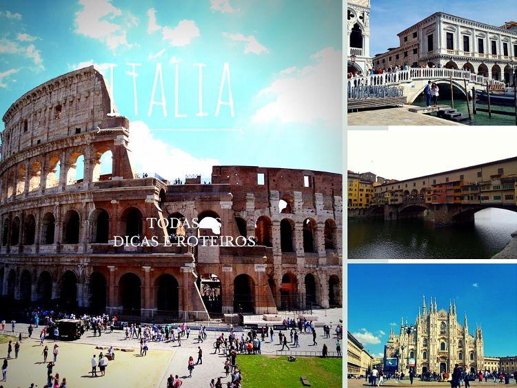 Dicas e Roteiros da Itália