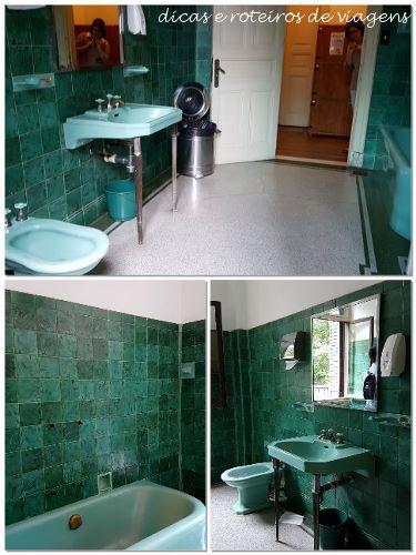 Banheiro na Casa das Rosas