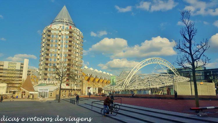 Roteiro a pé em Rotterdam