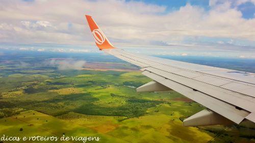 Chegando em Campo Grande