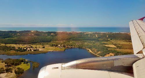 Chegando no Aeroporto de Jaguaruna