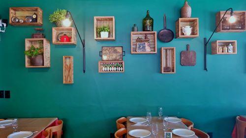 Decoração do Restaurante Veneza